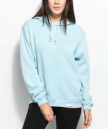 Diamond Supply Co. Mini OG Sign Light Blue Hoodie