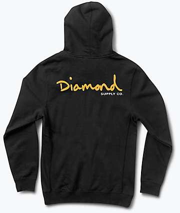 Diamond Supply Co. OG Script Black Hoodie