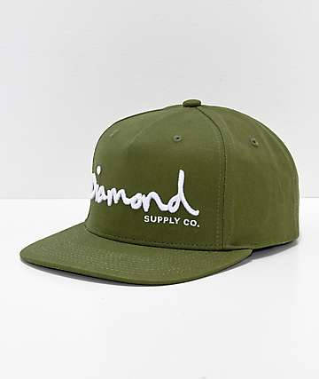 Diamond Supply Co. OG Script Snapback Hat a0d671874e1