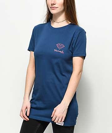 Diamond Supply Co. OG Sign Navy T-Shirt