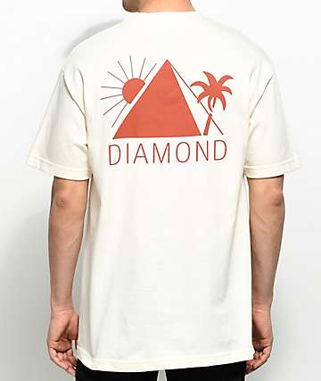 Diamond Supply Co. Oases Cream T-Shirt