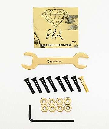 "Diamond Supply Co. P Rod Gold .875"" Allen Hardware"
