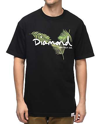 Diamond Supply Co. Paradise OG Script Black T-Shirt