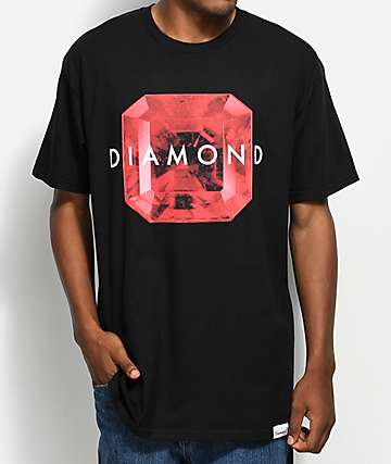 Diamond Supply Co. Rare Gem Black T-Shirt