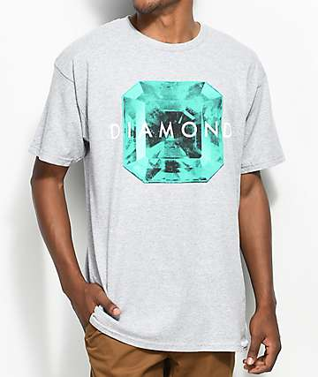 Diamond Supply Co. Rare Gem Grey T-Shirt
