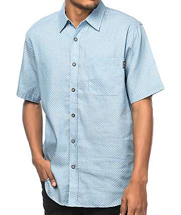 Diamond Supply Co. Repeat camisa en azul claro