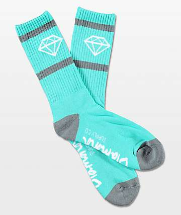 Diamond Supply Co. Rock Sport Mint Crew Socks