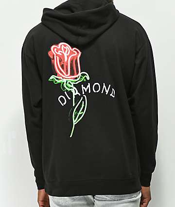 Diamond Supply Co. Rosette Black Hoodie