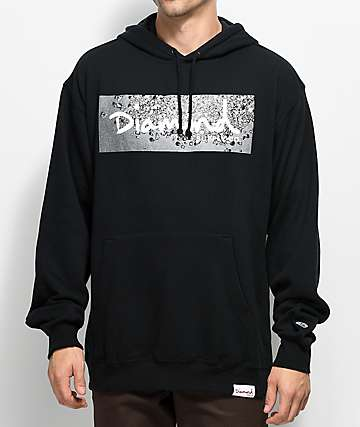 Diamond Supply Co. Scatter Box Logo Black Hoodie