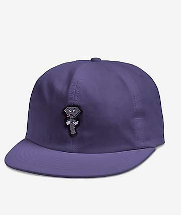 Diamond Supply Co. Screwed Up Purple Six Panel Hat