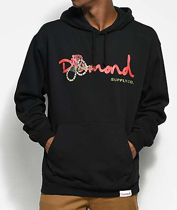 Diamond Supply Co. Snake OG Black Hoodie