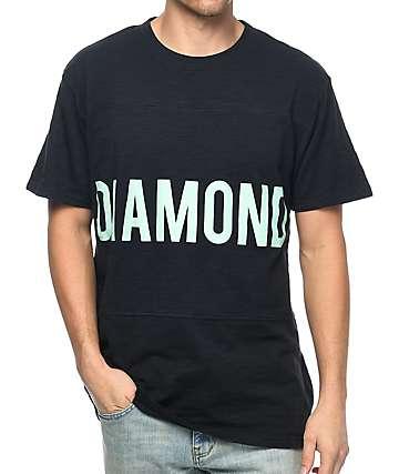 Diamond Supply Co. Speedway Navy Panel T-Shirt