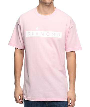 Diamond Supply Co. Starboard Pink T-Shirt