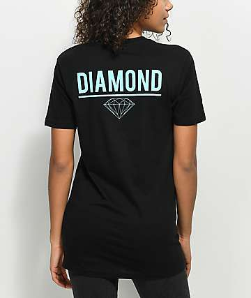 Diamond Supply Co. Strike Black T-Shirt