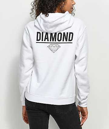 Diamond Supply Co. Strike White Hoodie