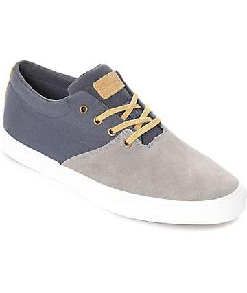 Diamond Supply Co. Torey zapatos de skate en gris y azul