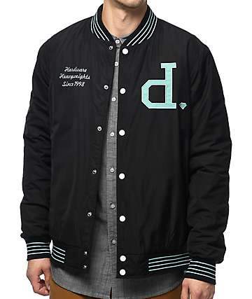 Diamond Supply Co. Un Polo Black Varsity Jacket