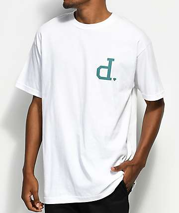 Diamond Supply Co. Un Polo White T-Shirt