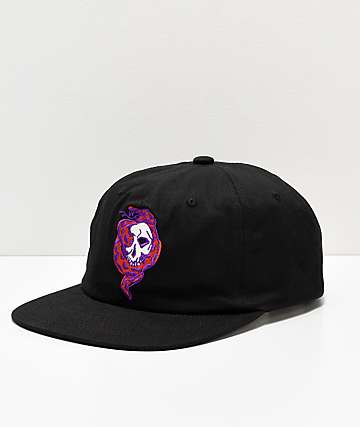 Diamond Supply Co. Venom Black Snapback Hat