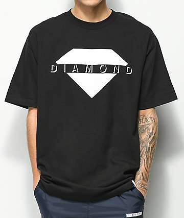 Diamond Supply Co. Viewpoint Black T-Shirt