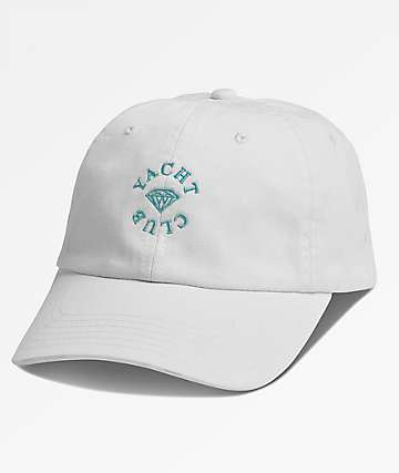 Diamond Supply Co. Yacht Club White Dad Hat