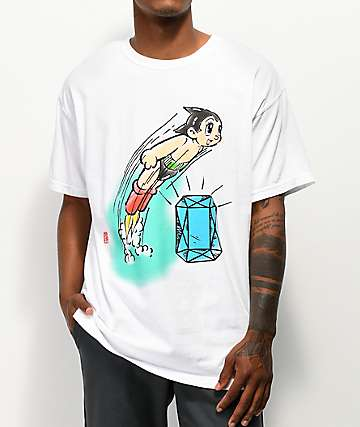 e3a7562fa Diamond Supply Co. x Astro Boy Soaring White T-Shirt