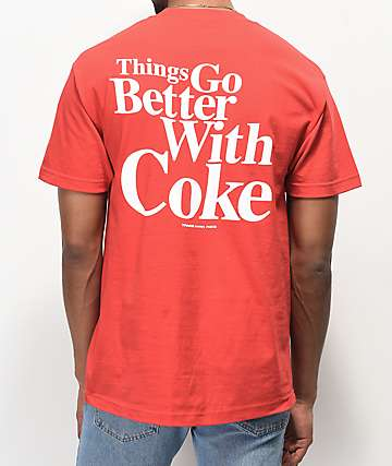 Diamond Supply Co. x Coca-Cola OG Sign Red T-Shirt