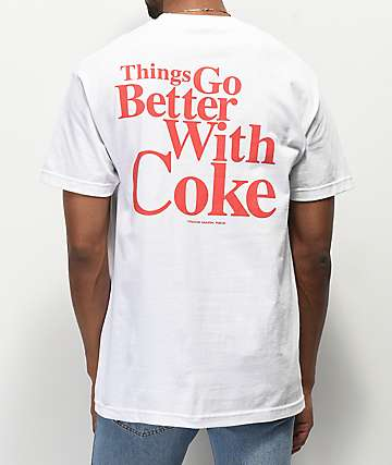 Diamond Supply Co. x Coca-Cola OG Sign camiseta blanca