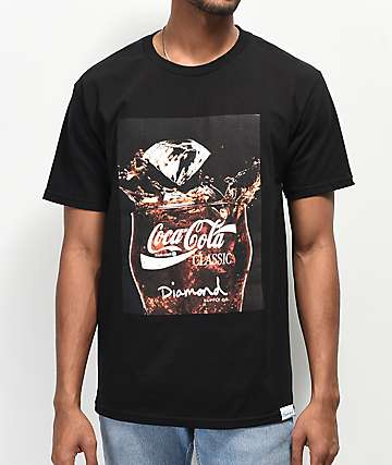 Diamond Supply Co. x Coca-Cola Photo Black T-Shirt