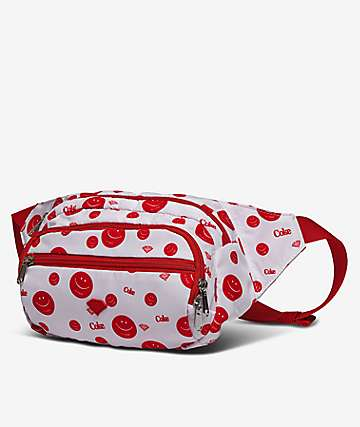 Diamond Supply Co. x Coca-Cola Smile White & Red Fanny Pack