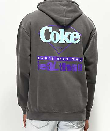 Diamond Supply Co. x Coca-Cola The Real Thing Black Washed Hoodie a3e9e354f631