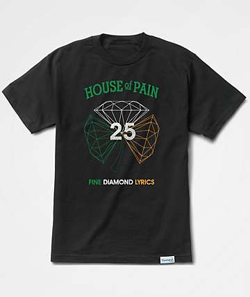 Diamond Supply Co. x H.O.P. Diamond Black T-Shirt