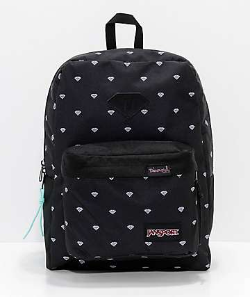Diamond Supply Co. x Jansport Super FX Repeat Print Backpack