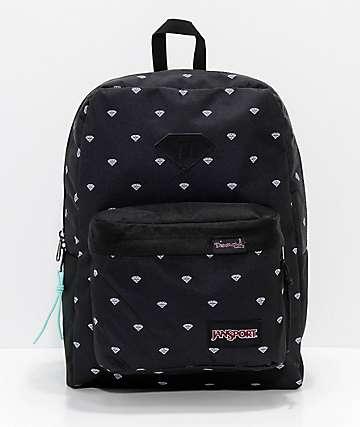 Diamond Supply Co. x Jansport Super FX Repeat Print Backpack