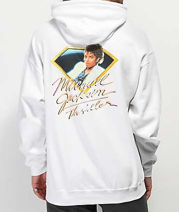 Diamond Supply Co. x Michael Jackson Thriller White Hoodie