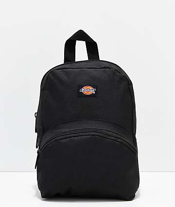 Dickies Black Mini Backpack