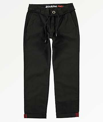 Dickies Boys Black Skinny Pants