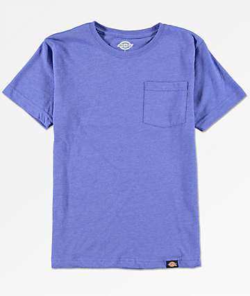 Dickies Boys Blue Pocket T-Shirt