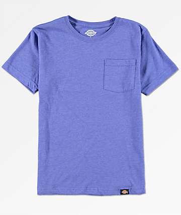 Dickies Boys Blue Pocket T-Shirt