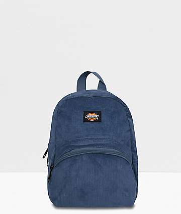 Dickies Corduroy Navy Mini Backpack