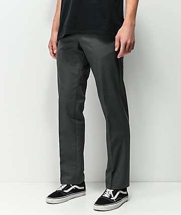 Dickies Flex Charcoal Slim Work Pants