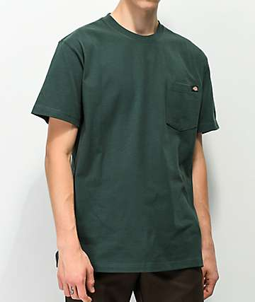 Dickies Hunting Green Heavyweight Pocket T-Shirt