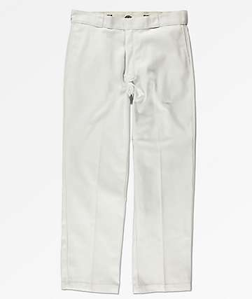 Dickies Original Fit White Work Pants