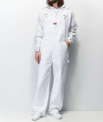Dickies Painter White Overalls