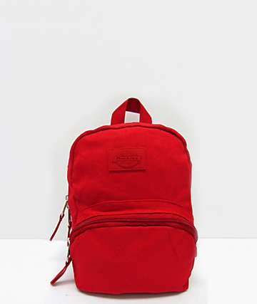 Dickies Red Mini Backpack