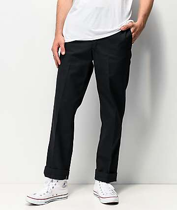 Dickies Regular Black Work Pants
