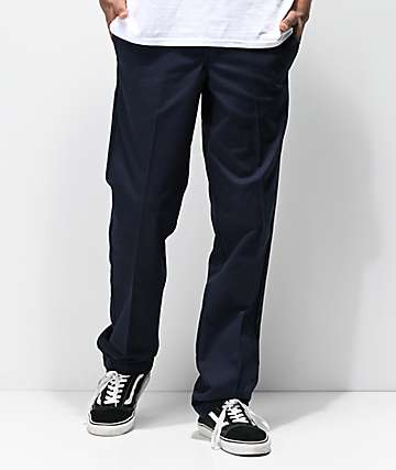 Dickies Slim Fit Dark Navy Work Pants