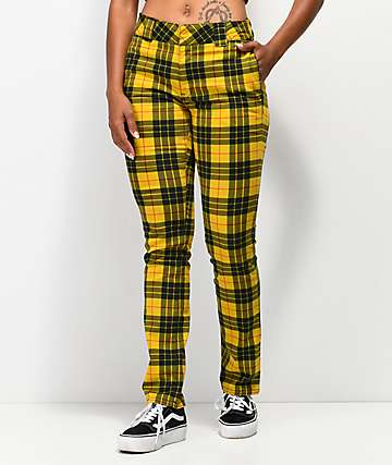 Dickies Tartan Yellow Pant
