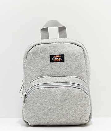 Dickies Terry Heather Grey Mini Backpack