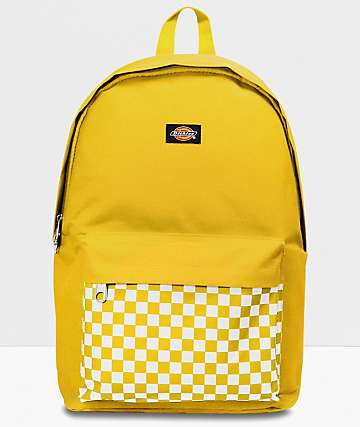 Dickies The Prep Mustard Yellow Backpack